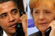 Jelang Lengser Obama Telepon Merkel, Mitra Terdekat Internasional