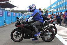 Posisi Riding All New Yamaha R15