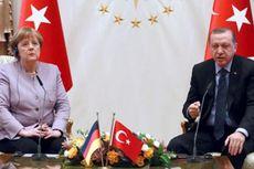 Di Muka Erdogan, Merkel Tekankan Pentingnya Kebebasan Berpendapat