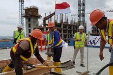 Sesuai Jadwal, Pembangunan Wisma Atlet Kemayoran Capai 60 Persen