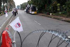 Massa Pendukung dan Kontra Ahok Sudah Berkumpul di Jalan RM Harsono