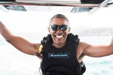 Kite Surfing, Olahraga Air yang Dipelajari Barack Obama Pasca Pensiun