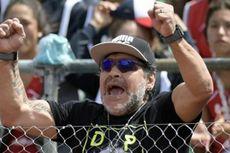 Maradona Bertengkar dengan Wanita di Hotel, Polisi Madrid Turun Tangan