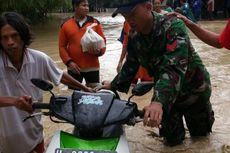 Banjir Tak Kunjung Surut dan Lumpuhkan Aktivitas Warga Sayung