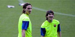 Friksi antara Ibrahimovic dan Messi
