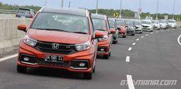 Uji Honda New Mobilio di Pulau Bali
