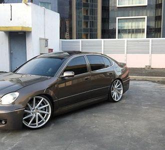 Modifikasi Sedan Mewah Lexus GS300