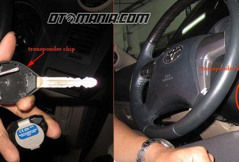 Biaya Resmi Bikin Kunci 'Immobilizer' Xenia