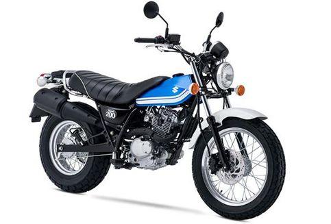 Motor Scrambler Suzuki 200 Cc Rp 60 Jutaan