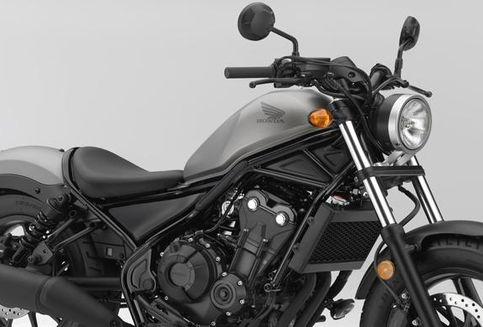 Honda Luncurkan Motor Bergaya 'Chopper'