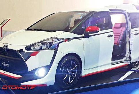 Inspirasi Modifikasi 'Ringan' Toyota Sienta Hasil Kolaborasi
