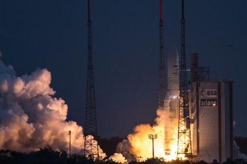 Satelit Telkom 3S Bermanuver Menjangkau Orbit Geostasioner