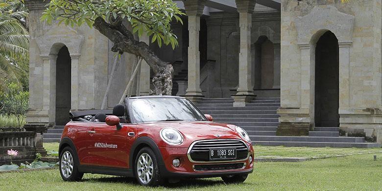 Mini Cabrio di jadi bintang utama di Mini Adventure 2016