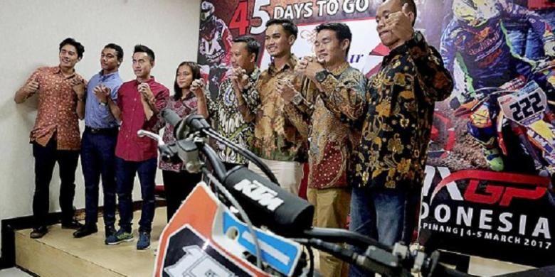 "10 Pebalap Indonesia Dapat Jatah ""Wild Card"" MXGP"