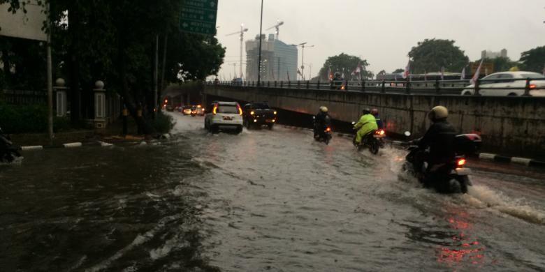 Hujan Deras, 54 Titik di Jakarta Terendam Banjir
