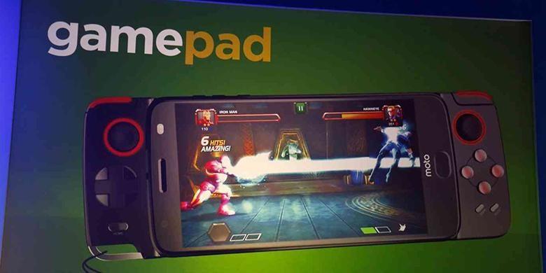 """""""Smartphone"""" Moto Z Bisa Jadi Konsol Game Saku"""