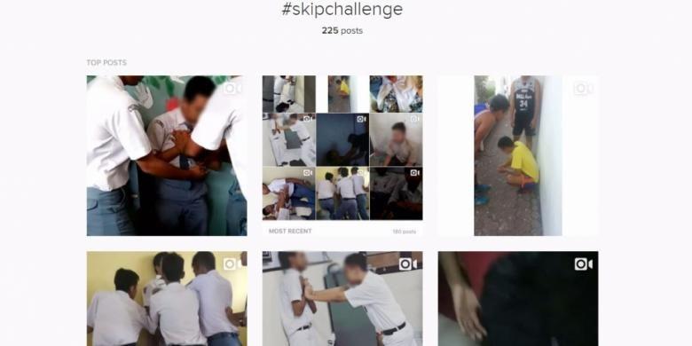 #SkipChalenge