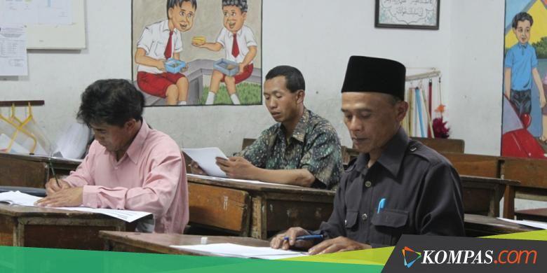 Pejabat Desa Sampai Ibu Hamil Semangat Ikuti Un Paket C Kompas Com