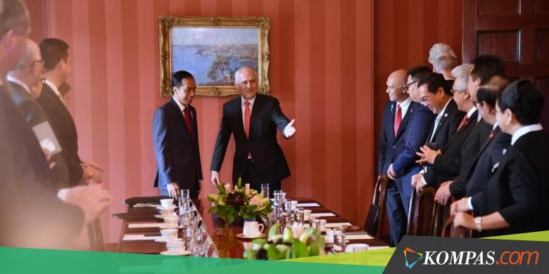 Ini Hasil Pertemuan Bilateral Presiden Jokowi-PM Australia