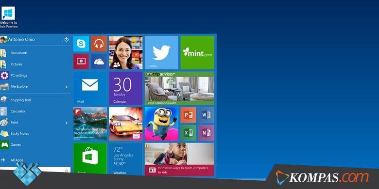 Windows 10 Bisa Diunduh Gratis - Kompas.com