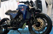 """GSX-R 150 Tanpa """"Fairing"""" Berubah Makin Sangar"""