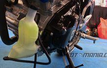 """Tanpa Jubah GSX-R 150 Kelihatan Bawa """"Botol Minuman"""""""