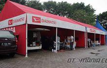 Ramai Pemudik Daihatsu dari Sumatera
