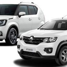 Bentrokan Suzuki Ignis dengan Renault Kwid