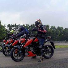 Suzuki GSX 150 Jajal Sirkuit Bridgestone Indonesia