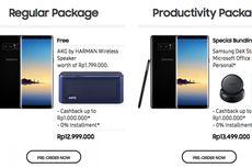 Telkomsel, XL, dan Indosat Buka Pemesanan Galaxy Note 8, Ini Daftar Paketnya