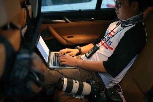 Ubah Kabin BMW X3 Jadi Ruang Redaksi