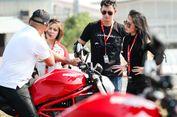 """Duo Artis Indonesia """"Geber"""" Ducati di Bangkok"""