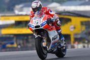 Dovizioso Taklukkan Lintasan Basah Sirkuit Le Mans pada Latihan Kedua
