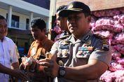 Polisi Gerebek Gudang Penimbunan Bawang Putih dari China di Cilacap