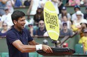 Aksi Djokovic Hibur Anak-anak di Roland Garros