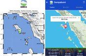 Gempa Bermagnitudo 5 Guncang Nias pada Malam Takbiran, Tak Berpotensi Tsunami