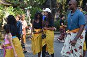 Kunjungi Taman Sari, Dua Putri Obama Pilih 'Blusukan' Lewat Kampung