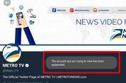 Akun Twitter Resmi Metro TV Tak Bisa Diakses, Mengapa?