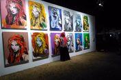 Karya Seni Dipo Andy Jadi Sasaran Swafoto Pengunjung Prambanan Jazz Festival