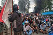 Kerusuhan Meluas, Karyawan Bakar Terminal Gorong-gorong Milik Freeport