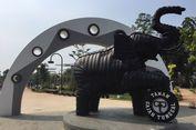 Unik, Fasilitas Taman di Kota Tangerang Ini Dibangun dari Ban Bekas