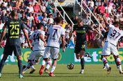 Hasil Liga Italia, Inter Pimpin Klasemen, AS Roma Menang Telak