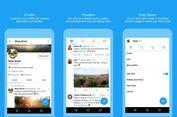 Aplikasi Twitter Hemat Data Diuji di Android