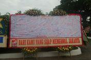 Partai Pendukung Ahok Juga Kirim Bunga untuk Anies-Sandi, Isinya...