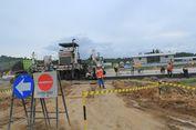 Konstruksi Jalan Tol Pertama di Kalimantan Baru 37,94 Persen