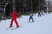 Menjajal Ski di Salju Hokkaido, Penuh Perjuangan...