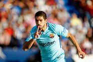 Hasil Liga Spanyol, 2 Gol Luis Suarez Warnai Kemenangan Barcelona