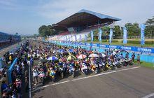 Kumpul Komunitas Yamaha di Sirkuit Sentul