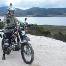 Ini Spesifikasi Motor Trail yang Dipakai Jokowi
