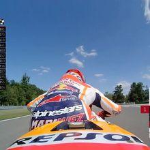 """Marquez """"Pol"""", Rossi Kedua Start di GP Ceko"""